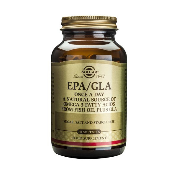 One-a-Day EPA/GLA (source naturelle d'oméga 3 et 6) 60 softgels - Solgar
