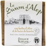 Savon d'Alep 12 % de Laurier  200 g - Douce Nature