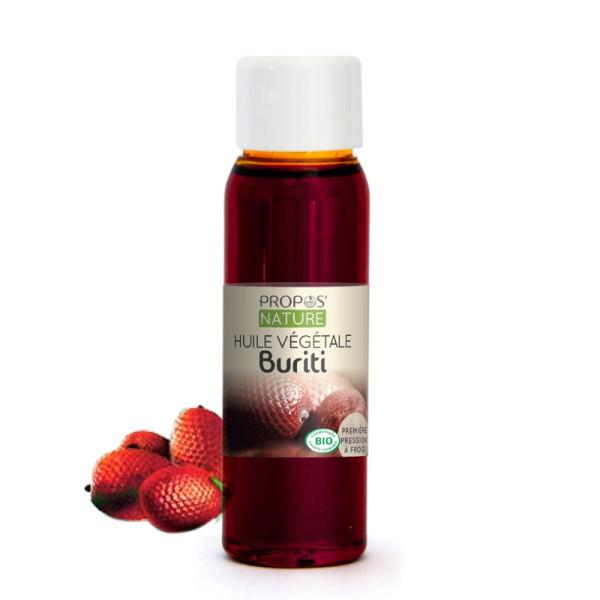 Huile végétale de Buriti Bio 30 ml - Propos'Nature