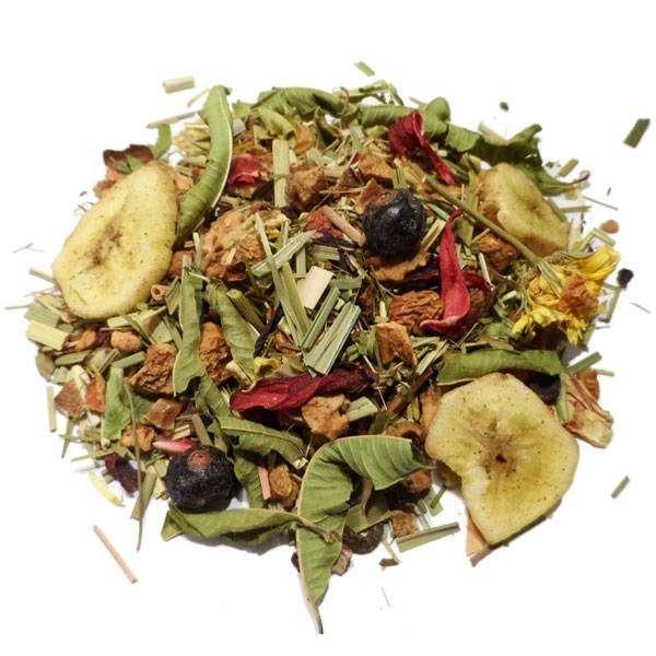 "Tisane Plantes, fleurs et fruits Bio ""Tisane familiale "" 100 gr - Herboristerie du Valmont"
