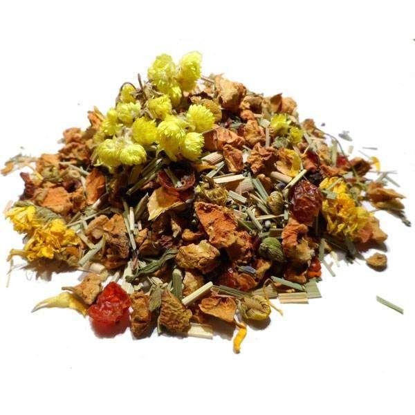"""Infusion Plantes, fruits et épices Bio """"Tisane Méditation"""" 100 gr - Herboristerie du Valmont"""