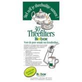 Filtres à thé en papier biodégradables Large 30 pièces - Biobox