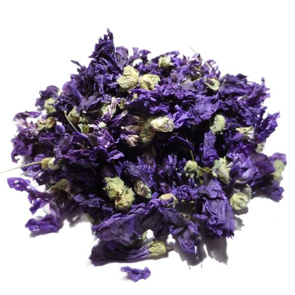 Tisane de Mauve Bio - Malva sylvestris - Fleurs en Vrac