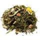"""Thé vert et blanc Bio """"Saveur fruitée d'Asie"""" 100 gr - Herboristerie du Valmont"""