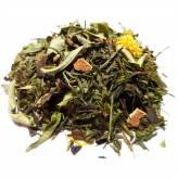 Thé vert et blanc Bio -Saveur fruitée d'Asie - 100 gr - Herboristerie du Valmont