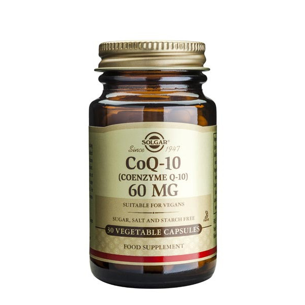 Co-Enzyme Q-10 30 mg 30 gélules végétales - Solgar