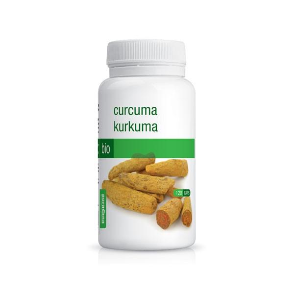 Turmeric Bio 120 capsules - Purasana