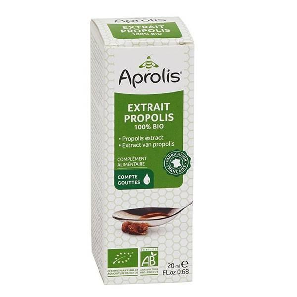 Extrait de Propolis en goutte 100% Bio 20 ml - Aprolis