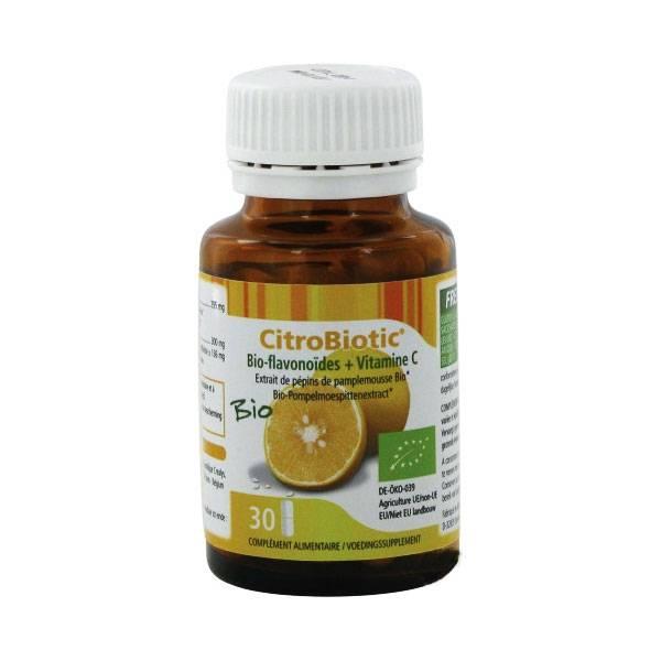 Citrobiotic 30 gélules Bio - Be-Life