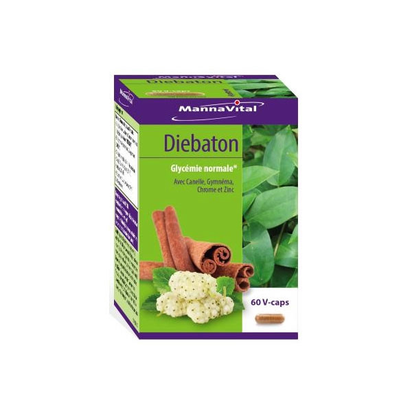 Diebaton 60 gélules végétales - Mannavital