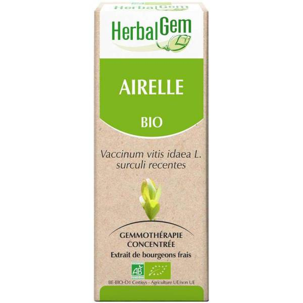 Airelle bourgeon 15 ml Bio - Herbalgem