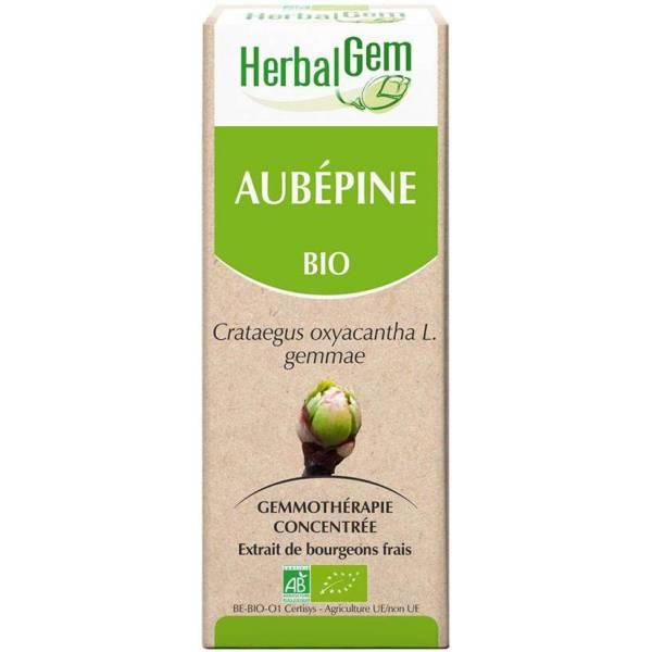 Aubépine bourgeon 15 ml Bio - Herbalgem