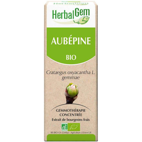 Aubépine bourgeon 50 ml Bio - Herbalgem