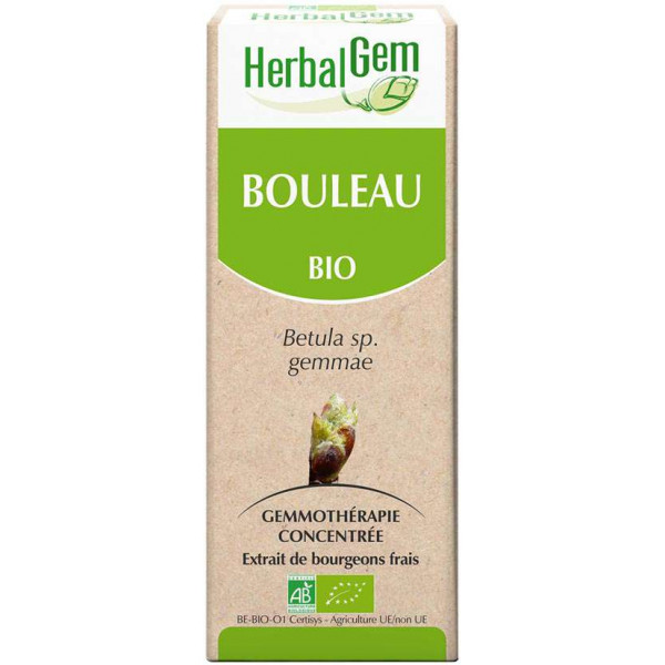 Bouleau bourgeon 15 ml Bio - Herbalgem