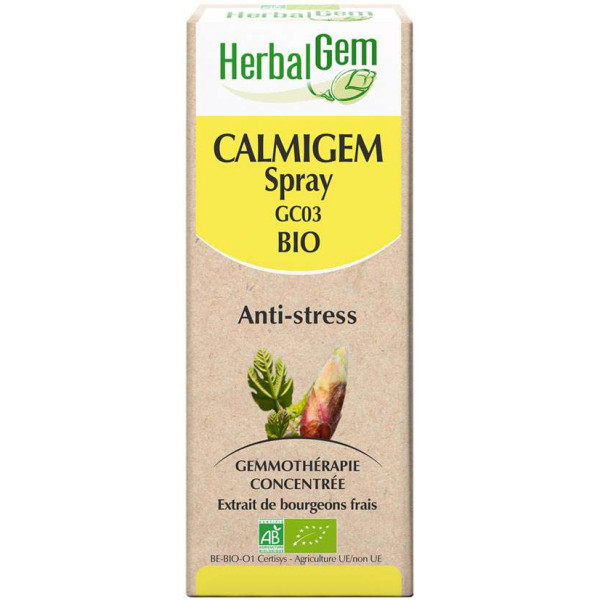 Calmigem spray 10 ml Bio - Herbalgem - GC03