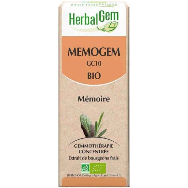 Mémogem 50 ml Bio - Herbalgem - GC10