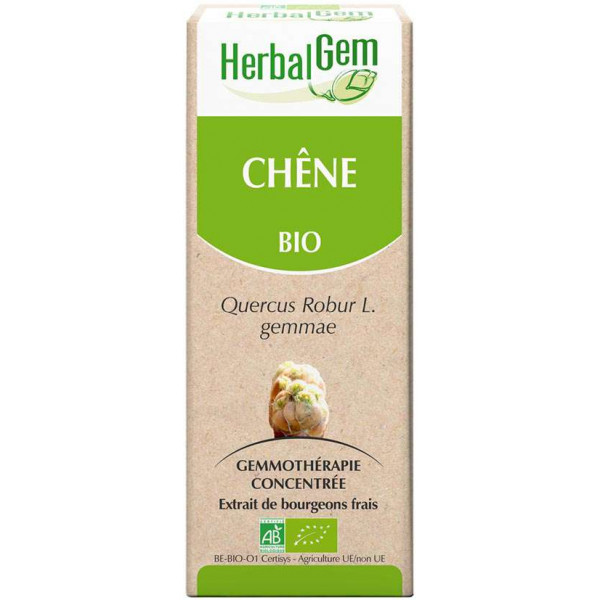 Chêne bourgeon 15 ml Bio - Herbalgem
