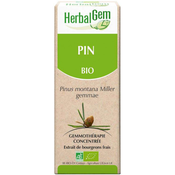 Pin bourgeon 15 ml Bio - Herbalgem