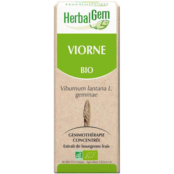 Viorne bourgeon 50 ml Bio - Herbalgem
