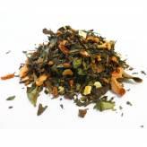 Thé blanc et vert Fruits et Herbes Bio - Thé blanc de Noël -100 gr - Herboristerie du Valmont