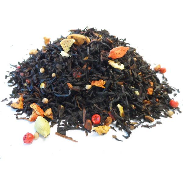Thé noir Assam Fruits et Herbes Bio - Christmas Candle - 100 gr - Herboristerie du Valmont