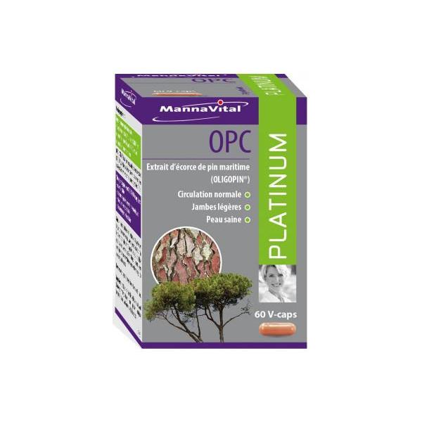 OPC Platinum 60 gélules végétales - Mannavital