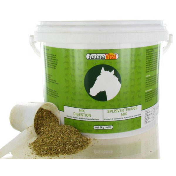 Mix Digestion Cheval 1 kg - Animavital