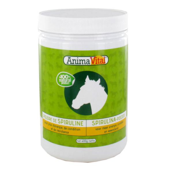 Spiruline en poudre pour Cheval 400 gr - Animavital