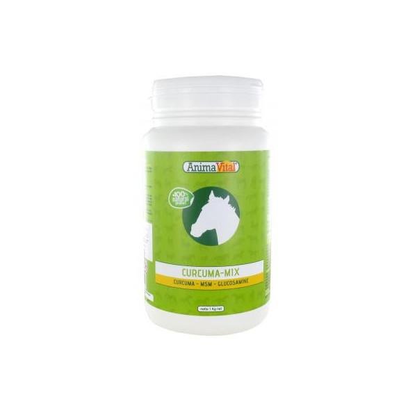 Mix Souplesse - Curcuma - MSM et Glucosamine 1 kg - Animavital