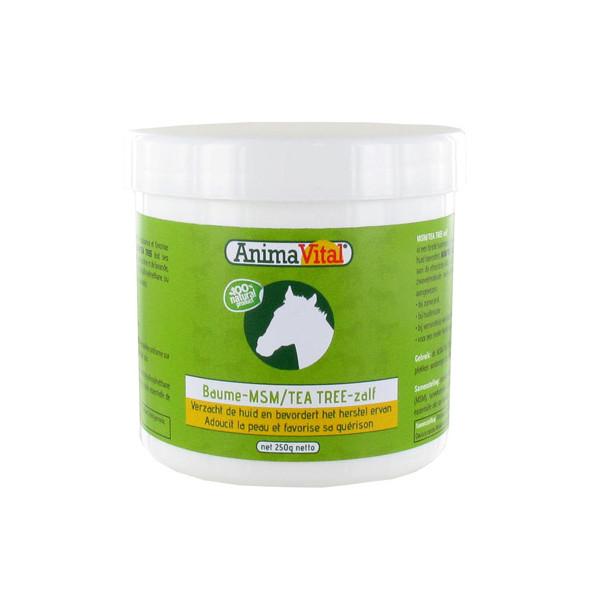 MSM - Tea tree Baume pour Cheval 250 gr - Animavital