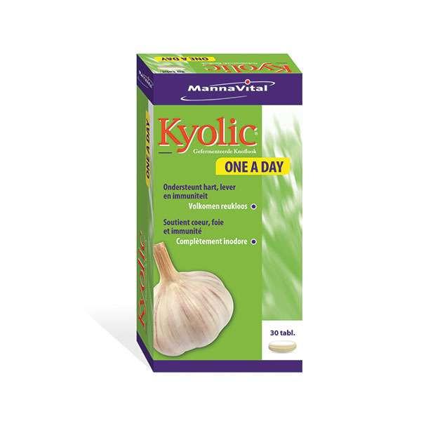 Kyolic One a Day 30 comprimés - Mannavital