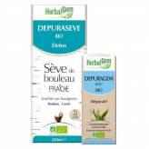 Pack Détox Herbalgem - Dépuraseve 250ml+ Dépuragem 50ml