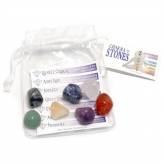 Pochette de Pierres des 7 Chakras - Chakra Stones