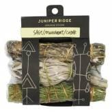 Set de Fumigation - Sauge blanche - Cèdre et Armoise commune +/- 10 cm par pièce - Juniper Ridge