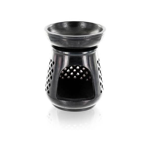 Diffuseur en pierre noire - Modèle Moucharabieh - Aromandise