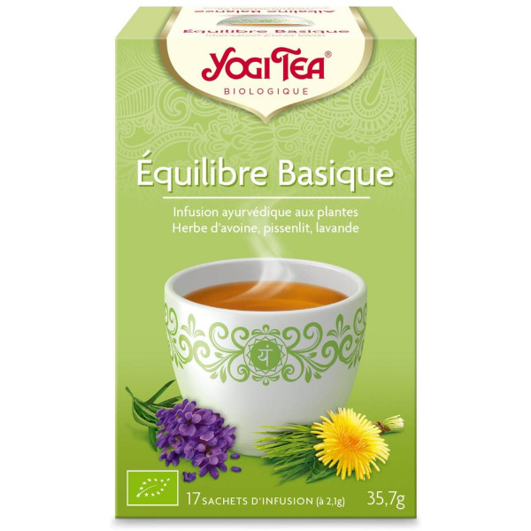 Yogi Tea - Equilibre Basique Bio 17 sachets - Thé Ayurvedic