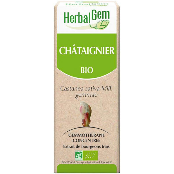 Chataignier bourgeon 50 ml BIO - Herbalgem