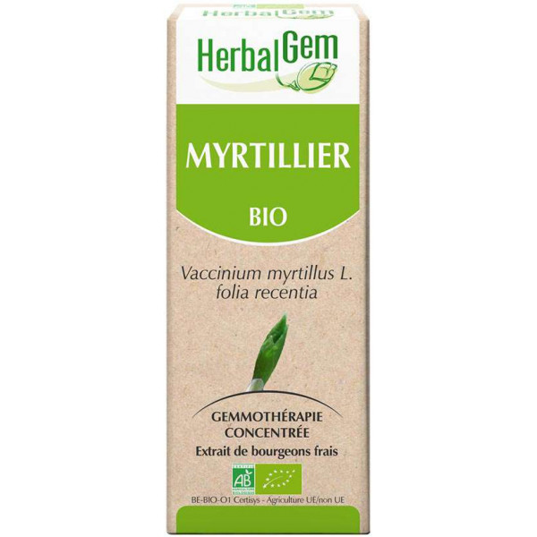 Myrtille bourgeon 50 ml Bio - Herbalgem