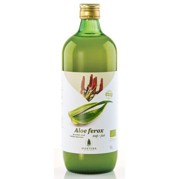 Aloe Ferox frais 100% pur jus Bio 1L - Martera