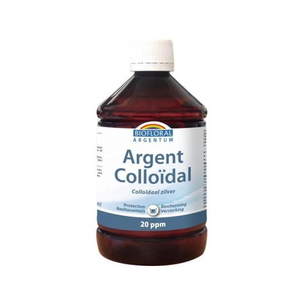 Argent Colloïdal 20 ppm 500 ml - Biofloral