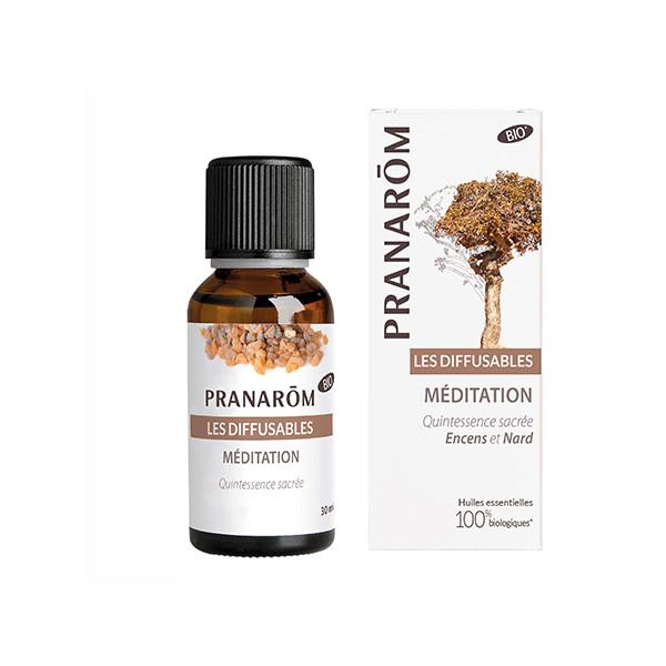 "Synergie d'huiles essentielles ""Méditation"" 30ml - Pranarôm"