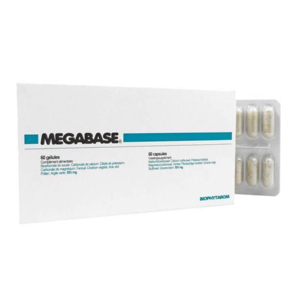 Megabase 60 gélules - Laboratoire Biophytarom