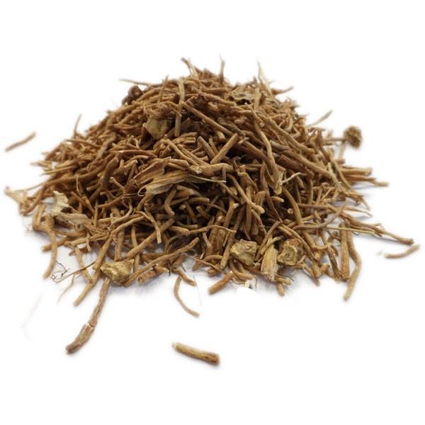Organic Valerian Herbal Tea - Valeriana officinalis - Root cut into ...
