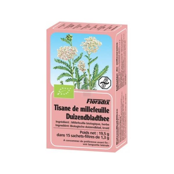 Tisane d'Achillée Millefeuille Bio 15 infusettes - Salus