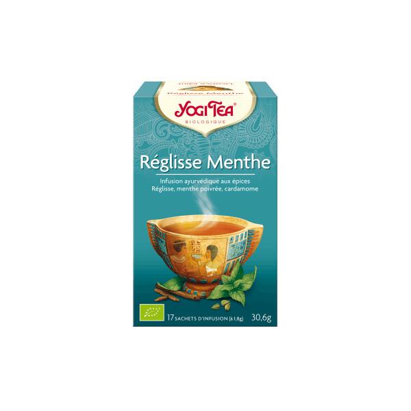 "Yogi Tea ""Réglisse Menthe""  Bio 17 sachets - Thé Ayurvedic"