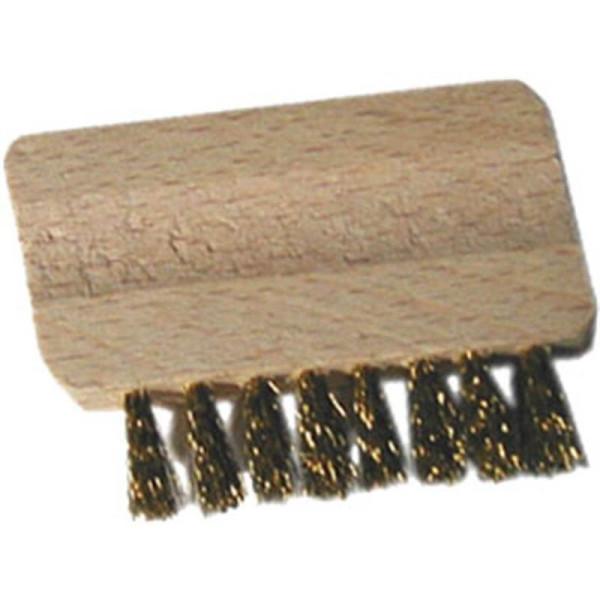 Brossette pour nettoyer tamis de brûleur d'encens