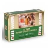 Poudre de Ginseng pure 500 mg 60 capsules - Il Hwa