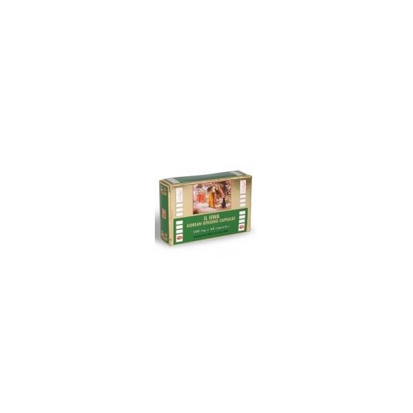 Il Hwa Poudre de Ginseng pure 500 mg  60 capsules Il Hwa