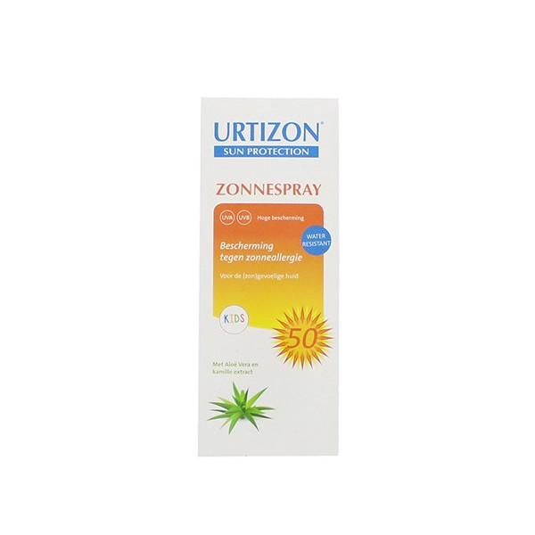 Urtizon Spray solaire waterproof SPF 50/Kids 150 ml - Ts Products