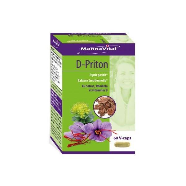 D-Priton 60 capsules végétales - Mannavital